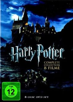 Harry Potter Komplettbox Teil 1+2+3+4+5+6+7.1+7.2 * NEU OVP * 8 DVD Box # in…