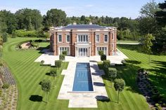 Property for sale - North Drive, Virginia Water, Surrey, Swimming Pool House, Indoor Swimming Pools, George Hill, Rich Home, Big Houses, Manor Houses, Elegant Homes, Surrey, Property For Sale