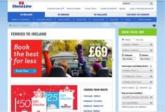 New 2014 Stena Line UK and Ireland websites built on the Sitecore digital marketing platform with integration of new improved booking dialogue.