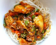 Healthy General Tso's Chicken... Chinese food is my weakness and I should at least attempt to make it healthy