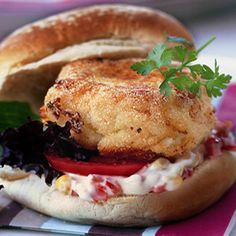 Trout Burgers - A. Must. Try! An easy twist on a kids' favourite! - www.fishisthedish.co.uk/recipes/trout-burgers