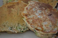 Dietitian UK: Courgette Pancakes, Wheat and gluten free pancakes with added veggies! A great healthy snack and lunchtime recipe.