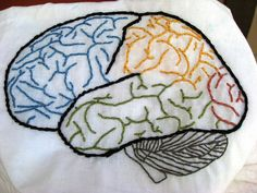 brain embroidery