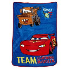 Disney Cars Taking the Race Toddler Coral Fleece Blanket features bold, bright colors in red, royal blue, yellow and brown. Race to the finish line with Lightning McQueen and his best buddy Mater in tow! Makes a wonderful gift for any toddler. Car Blanket, Toddler Blanket, Crown Crafts, Soft Corals, Receiving Blankets, Baby Blankets, Cute Cars, Lightning Mcqueen, Disney Cars