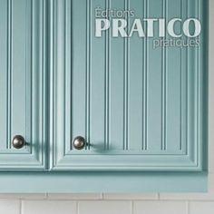 10 options pour revamper vos armoires id es d co pinterest armoire armoire makeover and - Revamper armoire melamine ...
