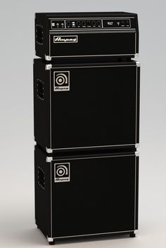 Ampeg SVT stack - Rhino - 3D CAD model - GrabCAD