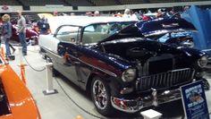 1955 Chevy Jax Wax Customer Bing Gatewood, Smithfield VA Virginia Hot Rod and Custom Car Show Hamptom VA 2014 #VirginiaCarShow jaxwax.com