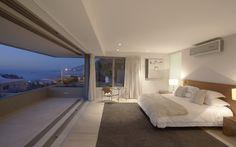 квартира, люкс, пентхаус, penthouse, море, спальня, кровать, кондиционер, интерьер, пейзаж, балкон