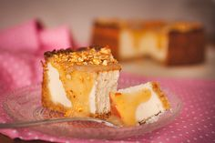Macadamia White Chocolate Cheesecake with Salty Caramel