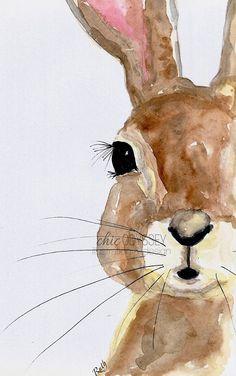 Peter Rabbit Illustration Print,Peter Rabbit Print,Illustration Print,Peter Rabbit Illustration,Rabbit Wall Art,Rabbit Watercolour Art