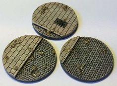 Gladius Game Arts - 40mm Martian Front Bases