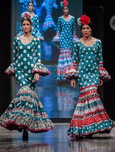 Así son las flamencas de Carmen Acedo en la Pasarela Flamenca de Jerez 2016. SIC Fotografías