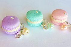 Francés Macaron encanto polímero arcilla por CakeryBakeryCharms