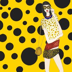 Pattern & Paint | Yayoi Kusama for Louis Vuitton