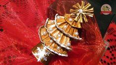Alberello di Natale con le capsule del caffè (senza colla)