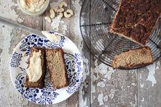 Zucchini Bread with Cashew Cream Cheese | gluten free