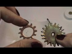 ▶ How to make you own shrinky dink gear charms