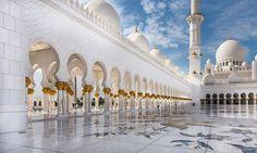 Abu Dhabi - Gran Moschea dello Sceicco Zayed