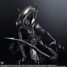 One of The bad Aliens that started the most memorable movie saga ever ! Replicated to the last detail