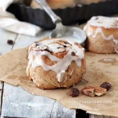 The Best Almond Flour Cinnamon Rolls (Paleo, GAPS, SCD) | KeepRecipes: Your Universal Recipe Box