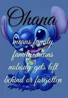 Ohana - Lilo and Stitch