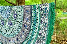 #bathappliances A gorgeous handmade 100% powerloom #cotton tablecloth featuring a center Mandala #design.. Tablecloth bedspread highlights: This tablecloth is mad...