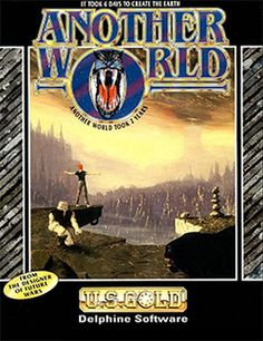 Another World, also known as Out of This World in North America and Outer World in Japan, is a 1991 cinematic platformer designed and developed by Eric Chahi. Selling around 1 million copies in the 1990s, Another World was innovative in its use of cinematic effects in the graphics, sound and cut scenes, with characters communicating through their facial features, gestures, and actions only. This cinematic style granted Another World cult status amongst critics and fans.