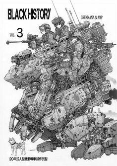 Tumblr: 7at1stroke:  陸上自衛隊前へアナログ作画です/秋本こうじC85火N-22aのイラスト [pixiv]