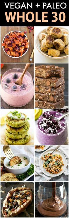Recipes for a VEGAN, vegetarian AND Plant-based diets- NO animal pro. - Recipes for a VEGAN, vegetarian AND Plant-based diets- NO animal products, no dairy and - Whole 30 Snacks, Whole 30 Lunch, Whole 30 Breakfast, Whole 30 Recipes, Vegan Whole30 Recipes, Vegan Vegetarian, Healthy Recipes, Vegan Keto, Raw Vegan