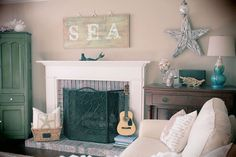 beach theme sun room great for cottage too?