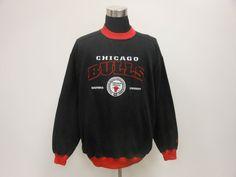 Vtg 90s Lee Sport Chicago Bulls Crewneck Sweatshirt XL Extra Large Jordan Pippen #LeeSport #ChicagoBulls