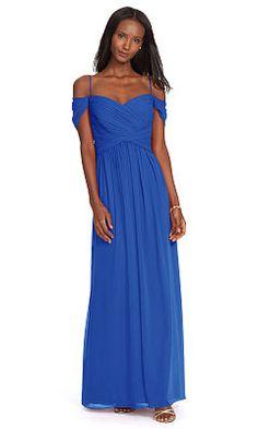 Off-the-Shoulder Gown - Lauren Evening - RalphLauren.com