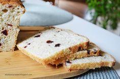 Akademia Ciastek... i nie tylko: Chleb z mąką orkiszową i żurawiną Sandwiches, Food, Meals, Yemek, Eten