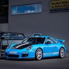 Bluetiful. #ItsWhiteNoise #Porsche911 #997GT3 @dg.z
