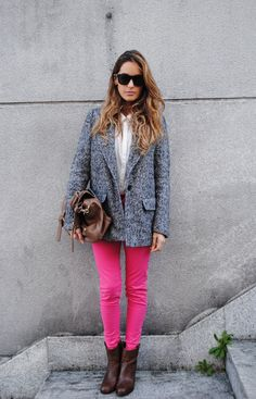 Pop of color. #Fashion #Trending #Womensfashion | Visit WISHCLOUDS.COM for more...