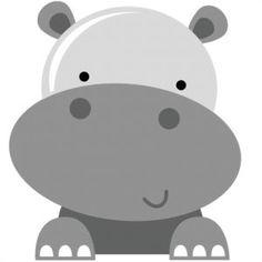 Hippo SVG scrapbook file hippo svg file hippo svg cuts hippo cut file for scrapbooking free svg files Owl Clip Art, Cute Clipart, Zoo Clipart, Board Game Geek, Board Games, Safari Party, Hippopotamus, Baby Animals, Wild Animals
