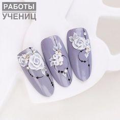 Summer nail art 300193131415696371 - Source by MarionArmaiti 3d Acrylic Nails, Coffin Nails Glitter, 3d Nails, 3d Nail Designs, Flower Nail Designs, Nail Art Hacks, Easy Nail Art, Beautiful Nail Art, Gorgeous Nails