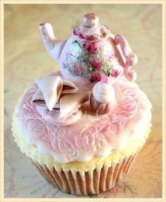Tea time cupcake
