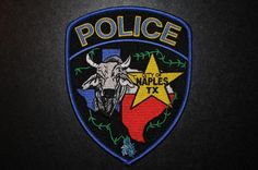 Naples Police Patch, Morris County, Texas (Current Issue)