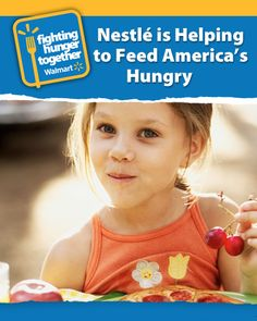 Nestlé is feeling good about donating 870,000 pound of food to families in need, and you should too!
