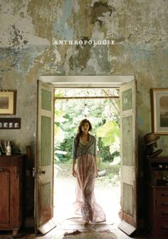 Cover of an Anthropologie catalog.