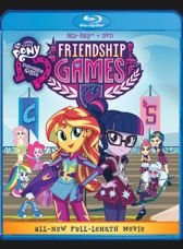 "The new movie ""My Little Pony: Equestria Girls - Friendship Games"" will be on DVD and Bluray October 13, 2015!"