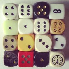 COLLECT ; VINTAGE DICE