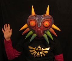 Wearable Majora's Mask Replica · Much Needed Merch · Online Store Powered by Storenvy