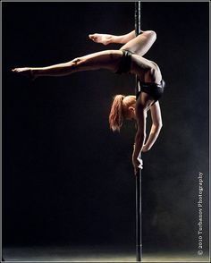 Pole has such a bad stigma :( but it actually originated from the circus (it was called chinese pole) and its an amazing act of strength and flexibility