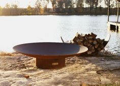 """Asia 48"""" Wood Burning Fire Pit"""