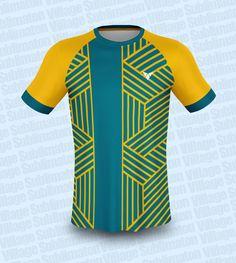 Football Kits, Soccer Players, Jersey Designs, Yellow, Green, T Shirt, Tops, Check, Soccer