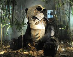 Louis Vuitton animal sculptures from bags, pinned by Ton van der Veer