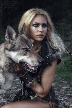 Beautiful and Easy Cat Halloween Makeup Character Inspiration, Character Art, Character Design, Character Sketches, Design Inspiration, Wolves And Women, Viking Costume, Wolf Photos, Fantasy Photography