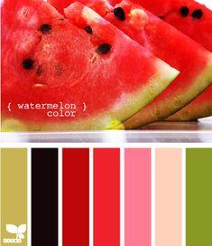 watermelon color